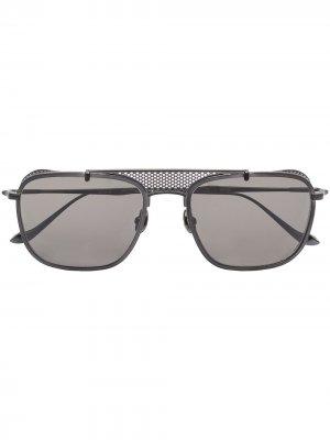 Солнцезащитные очки-авиаторы M3110 Matsuda. Цвет: черный