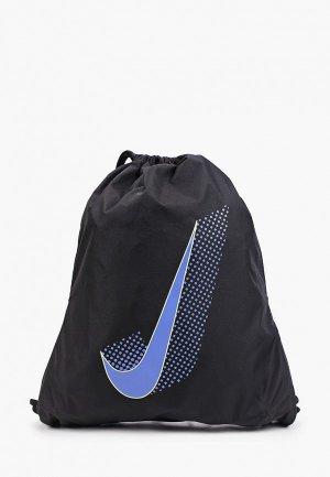 Мешок Nike Y NK BAG DRAWSTRING - GFX FA21. Цвет: черный