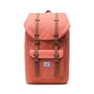 Рюкзак LITTLE AMERICA 25 л для ноутбука 15 HERSCHEL. Цвет: абрикос