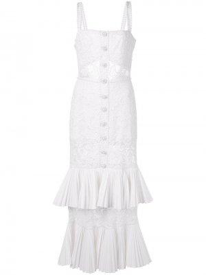 Ярусное кружевное платье Lyssa Alexis
