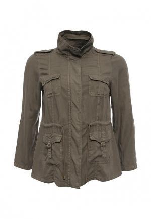 Куртка Zizzi. Цвет: хаки