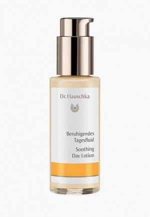 Флюид для лица Dr. Hauschka Успокаивающий, 50 мл. Цвет: белый
