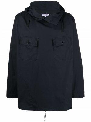 Анорак с капюшоном Engineered Garments. Цвет: черный