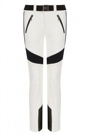 Белые лыжные брюки Caleya Bogner. Цвет: белый