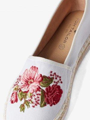 Обувь TOM TAILOR. Цвет: белый