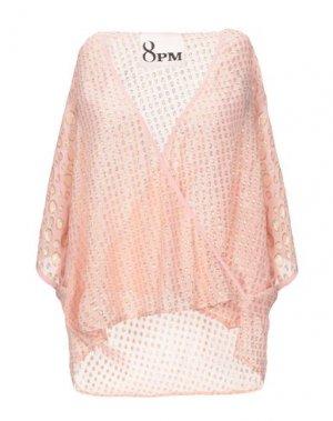 Блузка 8PM. Цвет: светло-розовый