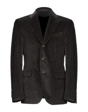 Пиджак CITY TIME. Цвет: темно-коричневый