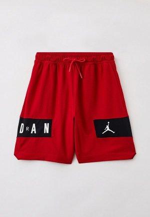 Шорты спортивные Jordan M J DF AIR MESH GFX SHORT. Цвет: красный