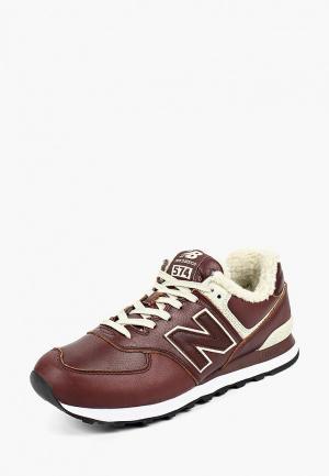 Кроссовки New Balance 574v2. Цвет: коричневый