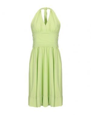 Короткое платье FRANCESCA FERRANTE. Цвет: кислотно-зеленый