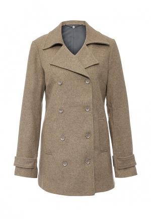 Пальто Fornarina. Цвет: бежевый