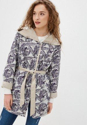 Куртка Steinberg. Цвет: бежевый