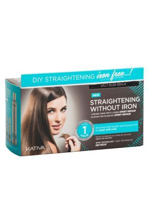 Набор для выпрямления волос Kativa. Цвет: none
