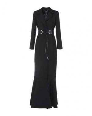 Пальто ELISABETTA FRANCHI. Цвет: черный