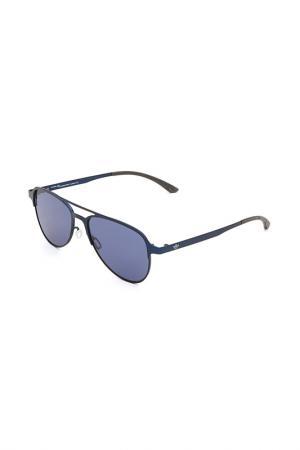 Очки солнцезащитные с линзами adidas. Цвет: 021 000 синий матовый