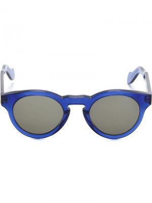 Солнцезащитные очки Marte Monocle Eyewear. Цвет: синий