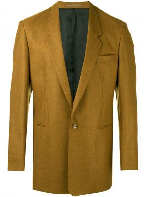 Пиджак мешковатого кроя E. Tautz. Цвет: коричневый
