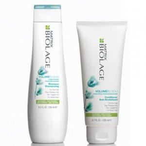 Шампунь и кондиционер для придания объема тонким волосам Matrix VolumeBloom Shampoo and Conditioner Biolage