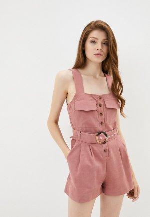 Комбинезон B.Style. Цвет: розовый