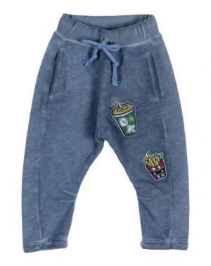Повседневные брюки ALLIGALLI. Цвет: грифельно-синий