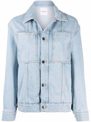 Джинсовая куртка Roseanna. Цвет: синий