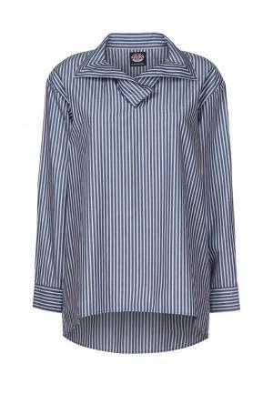 Рубашка Mayamoda. Цвет: синий