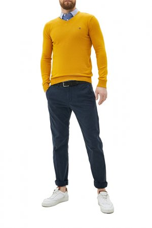 Пуловер CENTAURO. Цвет: горчичный