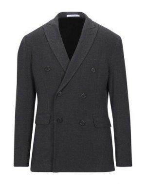 Пиджак AGLINI. Цвет: стальной серый