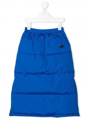 Дутая юбка Bobo Choses. Цвет: синий
