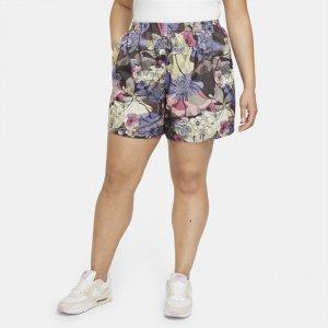 Женские шорты Sportswear Femme (большие размеры) - Черный Nike
