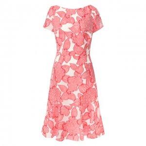 Платье-миди Escada. Цвет: розовый