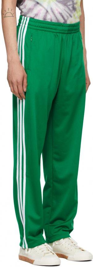 Green Firebird Track Pants adidas x Human Made. Цвет: green