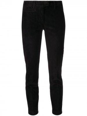 Slim-fit moleskin trousers Dondup. Цвет: черный