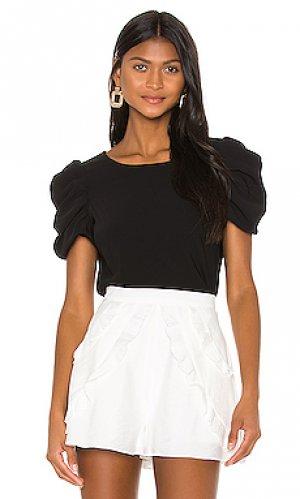 Блузка merris Amanda Uprichard. Цвет: черный