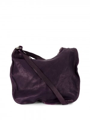 Zipped shoulder bag Guidi. Цвет: розовый