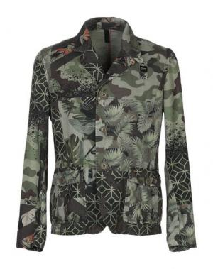 Пиджак BLAUER. Цвет: зеленый-милитари