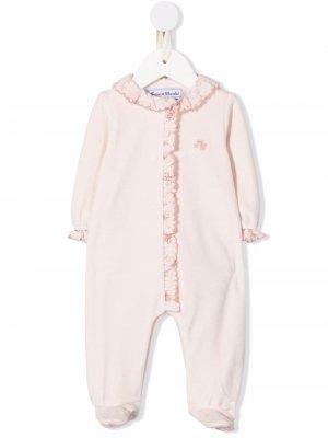 Пижама с вышитым логотипом Tartine Et Chocolat. Цвет: розовый