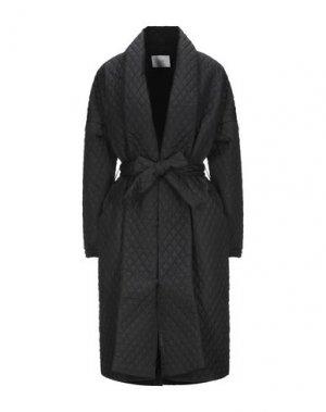 Пальто JUST FEMALE. Цвет: черный