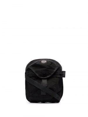 Harness shoulder pouch bag Stone Island. Цвет: черный