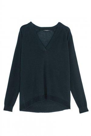 Однотонный пуловер Bruuns Bazaar. Цвет: зеленый