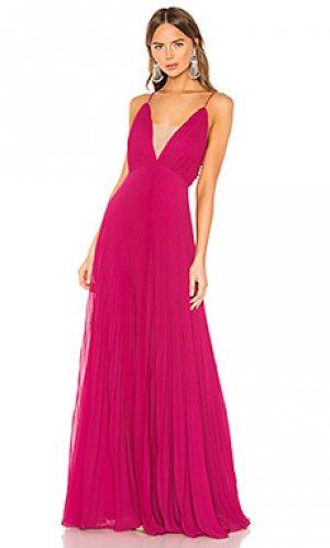Вечернее платье JILL STUART. Цвет: розовый