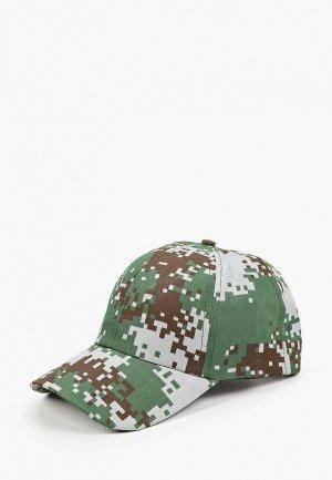 Бейсболка Flioraj. Цвет: зеленый