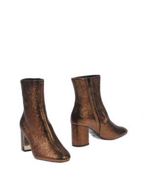 Полусапоги и высокие ботинки ROBERTO FESTA. Цвет: бронзовый