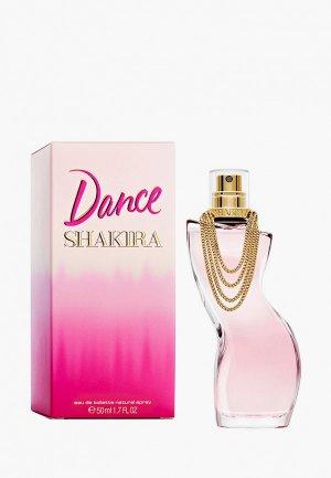 Туалетная вода Shakira Dance, 50 мл. Цвет: прозрачный