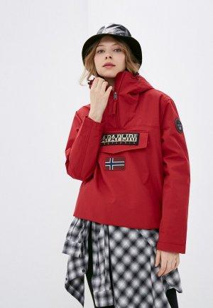 Куртка Napapijri RAINFOREST. Цвет: красный
