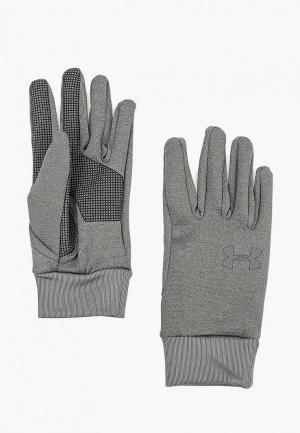 Перчатки Under Armour Mens Liner 2.0. Цвет: серый