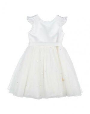Платье GAUDÌ. Цвет: белый
