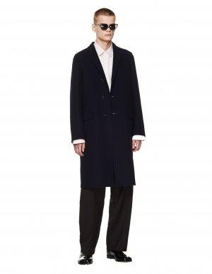 Черное кашемировое пальто Jil Sander