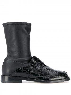 Tabi ankle boots Maison Margiela. Цвет: черный