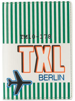 Обложка для паспорта Tila March. Цвет: зеленый